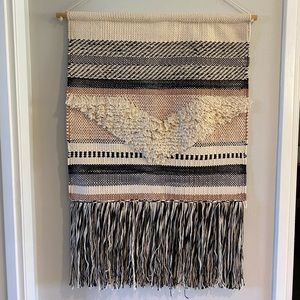 Woven tapestry wall hanging~